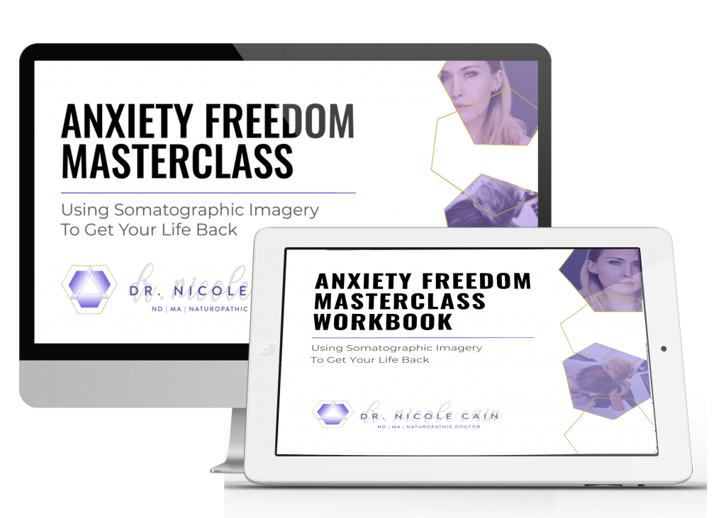 Anxiety Freedom Masterclass Ipad and Imac