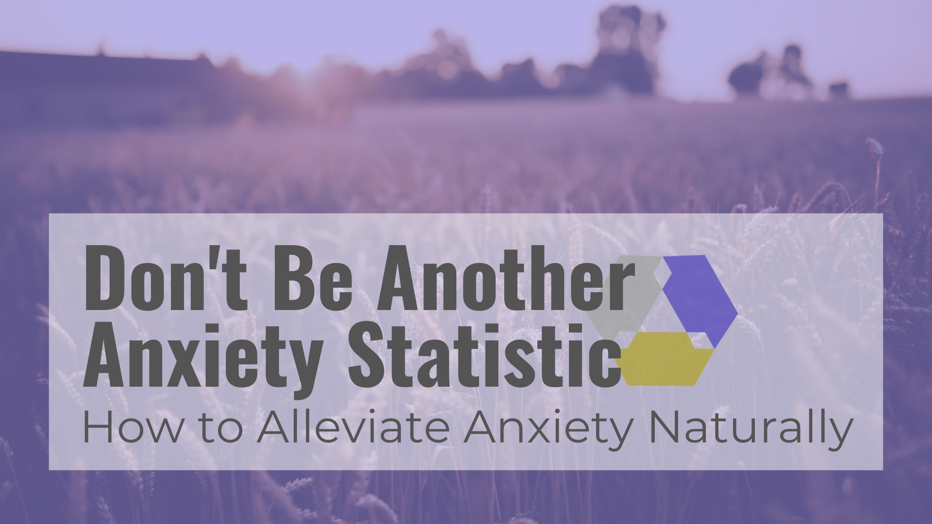 Alleviate Anxiety Naturally